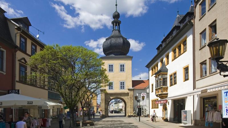 Stadt Saalfeld erleben