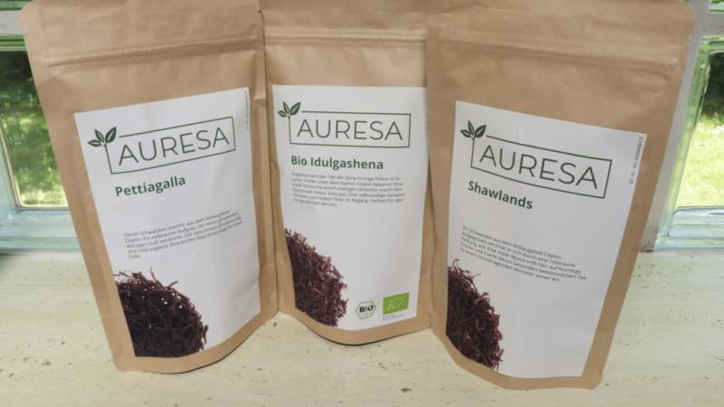 Fair gehandelter und CO2-neutral gelieferter Ceylon-Tee aus dem fernen Sri Lanka