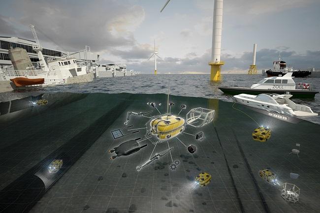Virtuell abtauchen – Fraunhofer IGD entwickelt in Rostock digitale Unterwassertechnologien