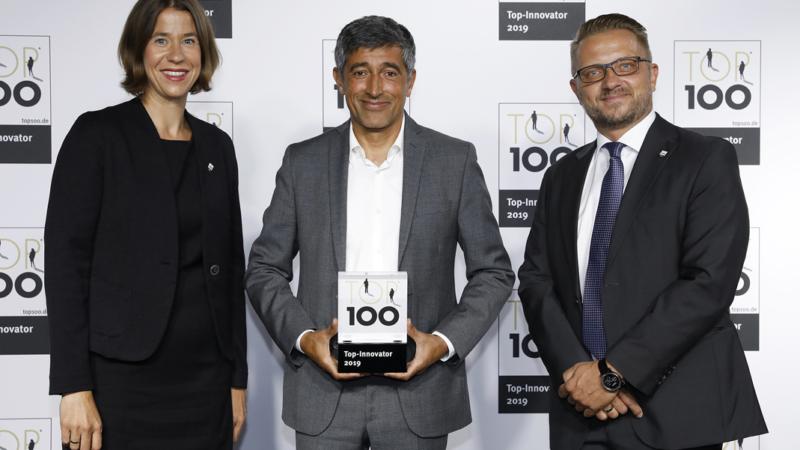 PROXIA mit dem TOP100-Innovationspreis ausgezeichnet