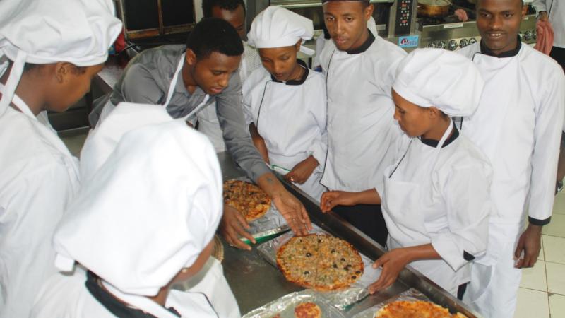 Neue Arbeitsplätze für Jugendliche in Äthiopien