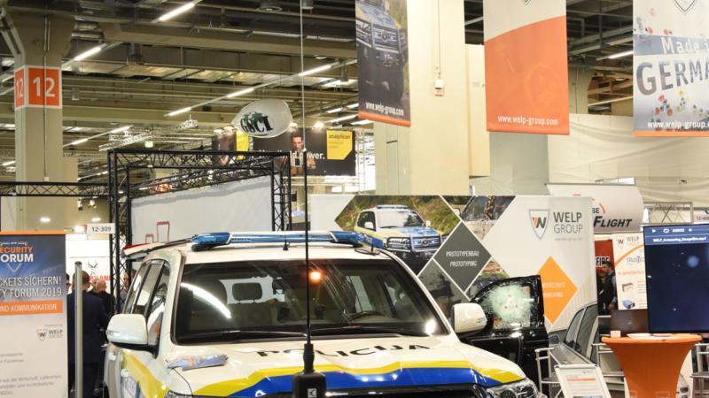 WELP Group auf der Enforce Tac 2019 in Nürnberg