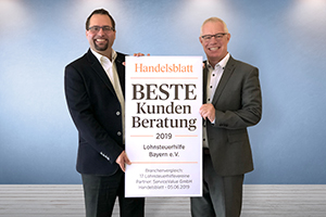 """Beste Kundenberatung"" laut Handelsblatt"