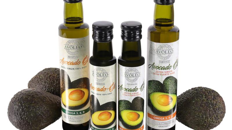 Großartig zum Grillen und für Marinaden AVOLEO-Avocadoöl