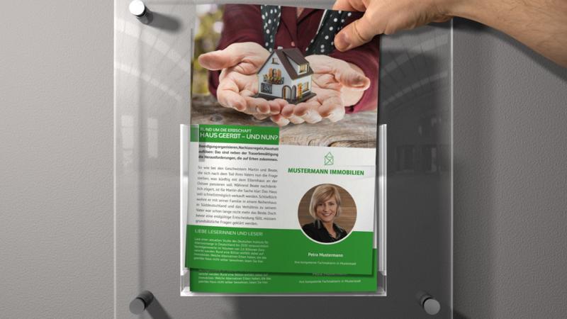 Immoji-Kompakt: Neuartige Wissensflyer für Immobilienmakler – mit Fachwissen zum Alleinauftrag