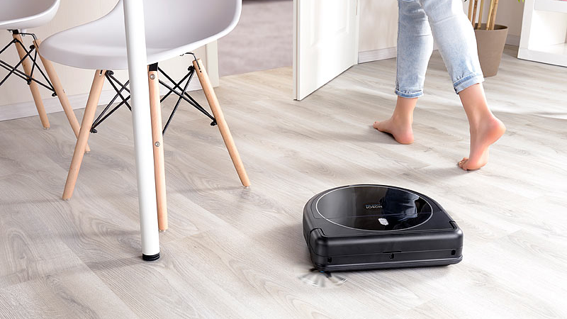Sichler Haushaltsgeräte Multiroom-Saug- und Wisch-Roboter