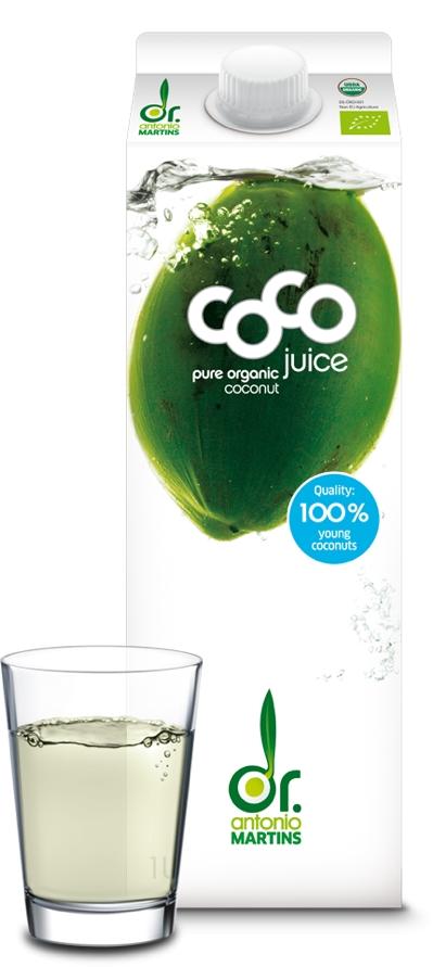 Kokoswasser hydriert besser als Mineralwasser
