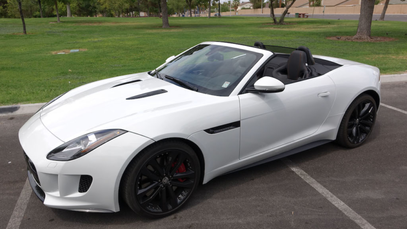 SmartTOP cabriolet top control for Jaguar F-Type Convertible with new functions