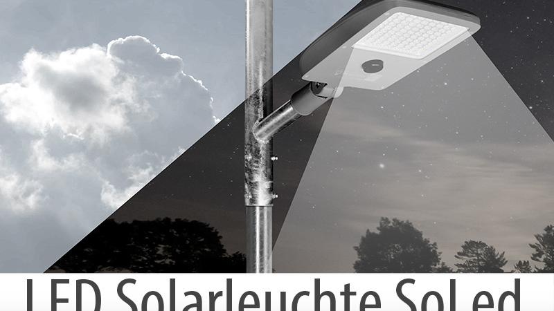 Straßen- und Platzleuchte SolLed –