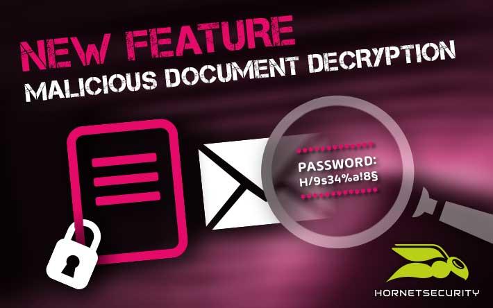 Hornetsecurity veröffentlicht neues Feature zum Schutz vor verschlüsselten Malware-Anhängen