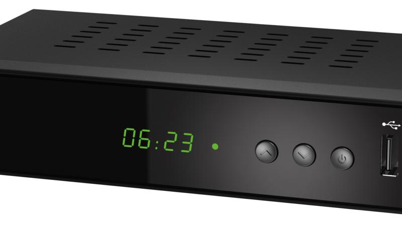 auvisio 3in1-Digital-Receiver DCR-200 für DVB-C, DVB-T2