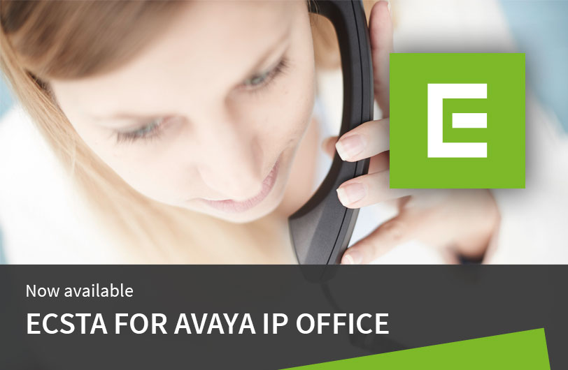 New: ECSTA middleware from estos for the Avaya IP Office series