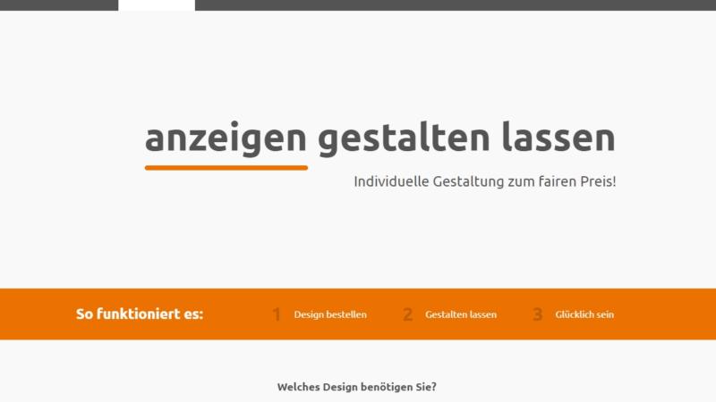 Neu: Grafikdesign im Shop von einfach-gestalten-lassen.de beauftragen