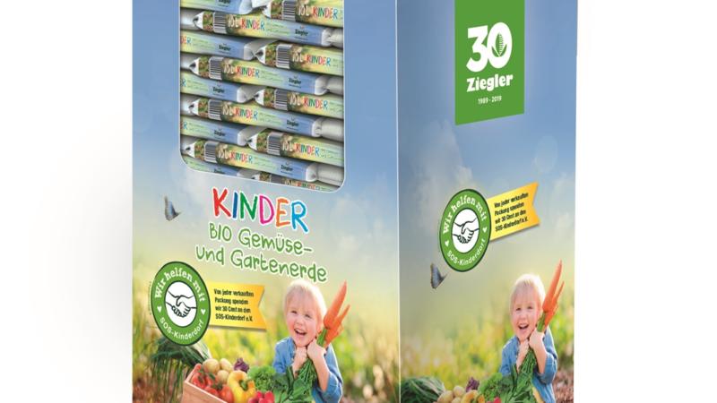 Gartenerde für die Kids mit SOS-Kinderdorf-Aktion