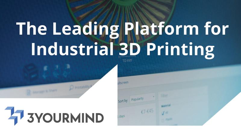 Investition in Höhe von 1,3 Millionen Euro zur Verbesserung der industriellen 3D-Drucksoftware mit künstlicher Intelligenz (AI) für 3YOURMIND