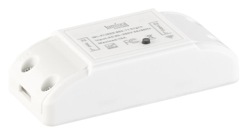 Luminea Home Control WLAN-Schalter für Licht & Co.