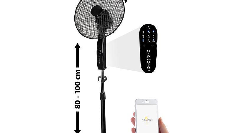 Sichler Haushaltsgeräte WLAN-Standventilator VT-600.app