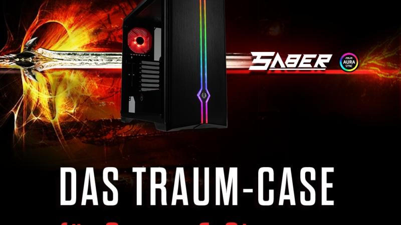 NEU bei Caseking – BitFenix Saber: Ein Traum-Gehäuse für Gamer und Streamer