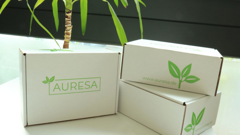 Tee-Versand so grün wie grüner Tee