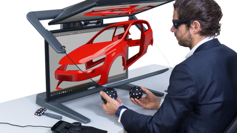 "The VR PluraView monitor from Schneider Digital Revolutionizes Working in ""3D-CAD"""