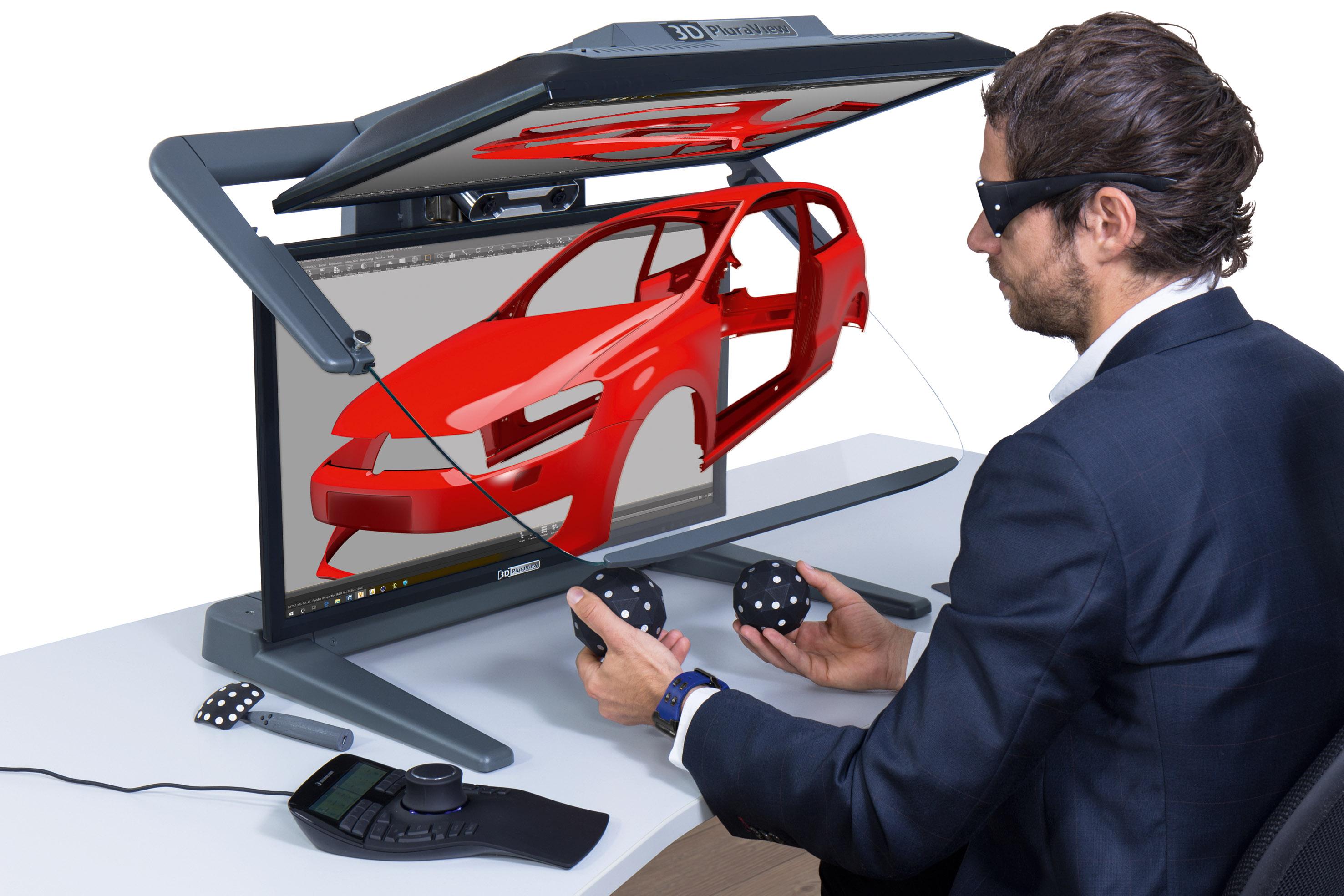 "The VR PluraView monitor from Schneider Digital Revolutionizes Working in ""3D-CAD"""