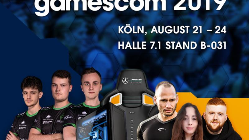 Caseking @ gamescom 2019 & King Deal-Sonderangebote – HALLE 7.1 / STAND B-031