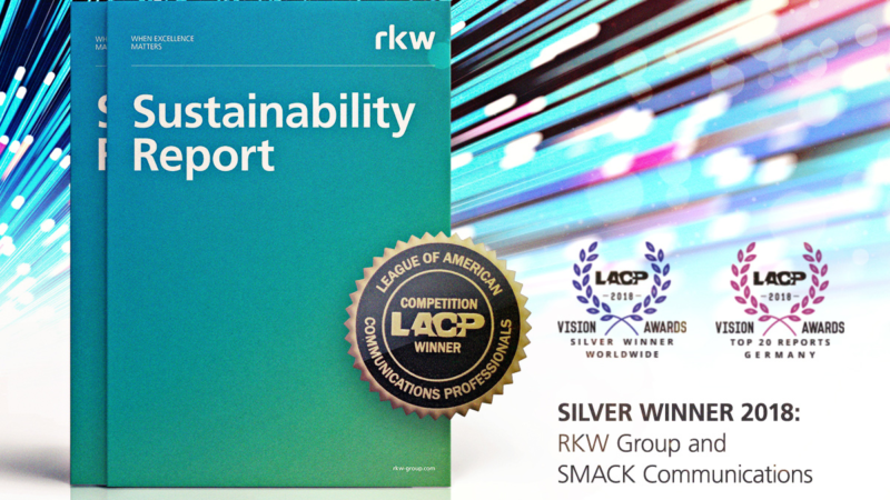 LACP Vision Award Silver für SMACK Communications und RKW-Gruppe