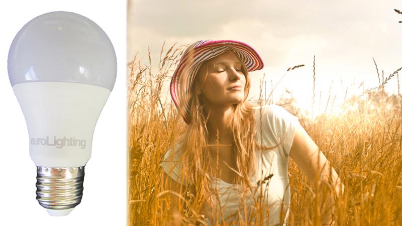 Beleuchtung mit Sonnenlicht-LEDs für Gesundheit und Wohlbefinden