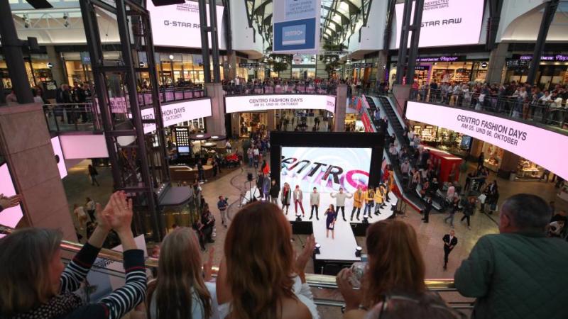 Shoppingerlebnis: Das Centro erstrahlt in neuem Glanz