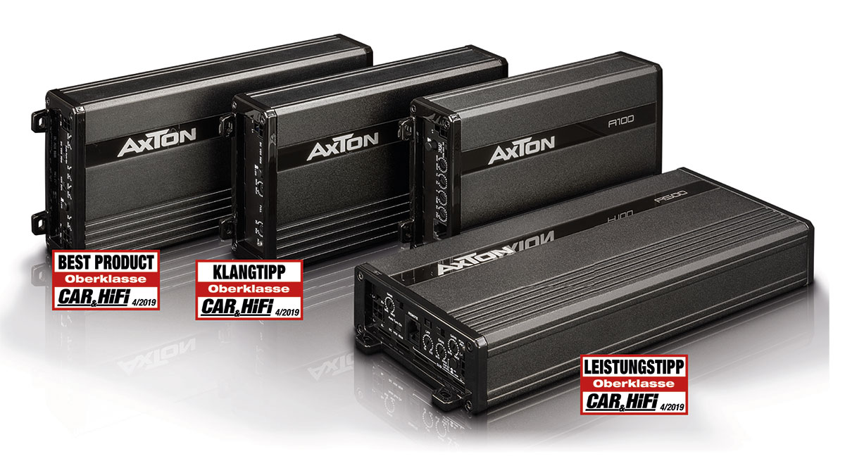 Tiny, powerful, nice price – AXTON's A-Series amplifiers