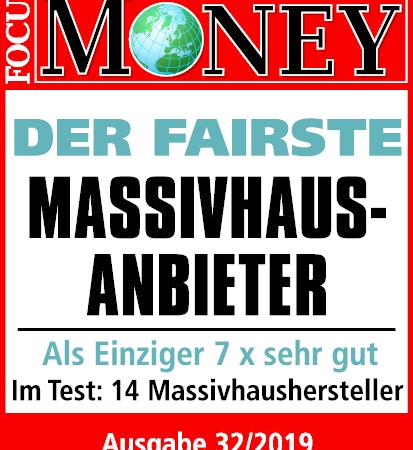 """Viebrockhaus """"Der Fairste Massivhausanbieter 2019"""""""