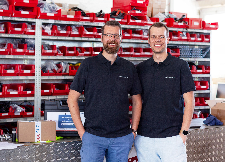 Behrens revolutioniert Ladebordwand-Ersatzteile Markt