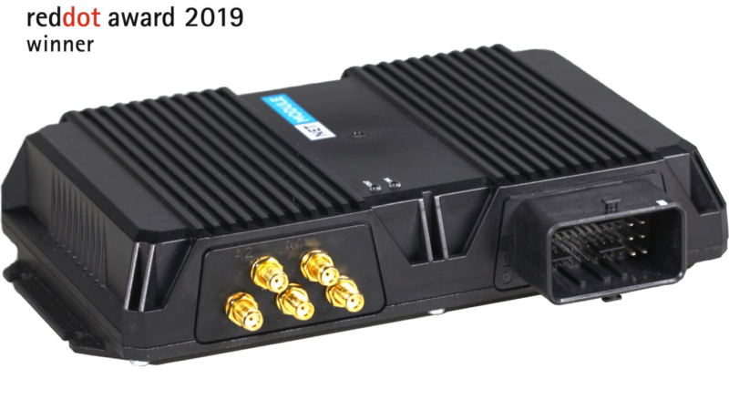 NetModule gewinnt Red Dot Award: Product Design 2019