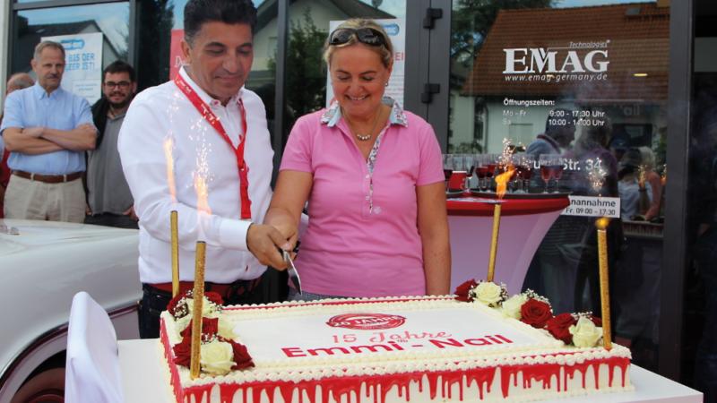 Gelungenes Jubiläumsfest bei der EMAG AG / Emmi – Nail