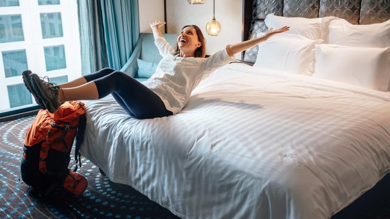 Hotels und Pflegeheime- Uebernachtungen werden bunter