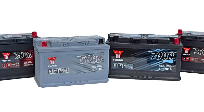 Neue Autobatterie-Typen von GS YUASA in Erstausrüsterqualität