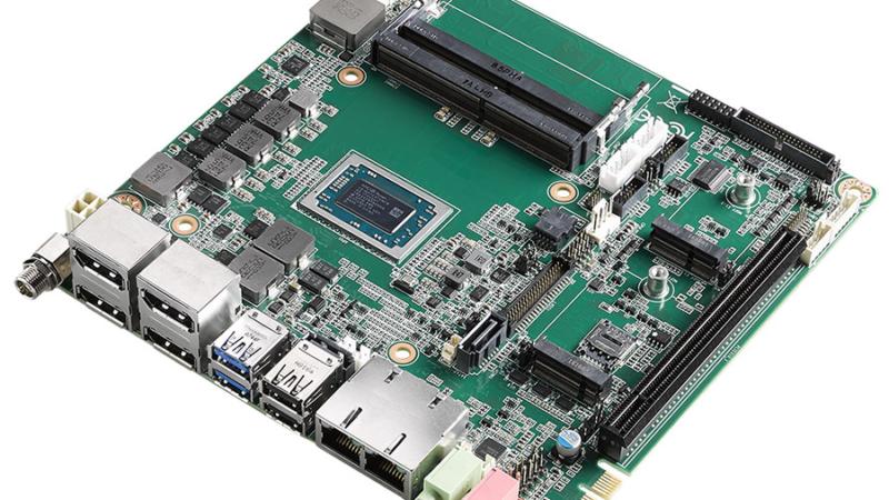 Herausragende Grafikperformance: Mini-ITX-Motherboard AIMB-228 mit AMD® Ryzen™ V1000 Embedded Prozessor