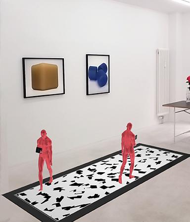 """Augmented Reality dank FOTOBODEN™:  Künstlerduo Banz & Bowinkel zeigt """"Cylinder & Bots"""""""