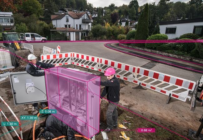 Visualisierungstool von Fraunhofer IGD erleichtert Telekom den Glasfaserausbau