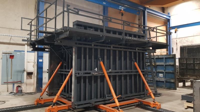 RATEC mit Folgeauftrag für variable Schalung zur Produktion von Trafokompaktstationen