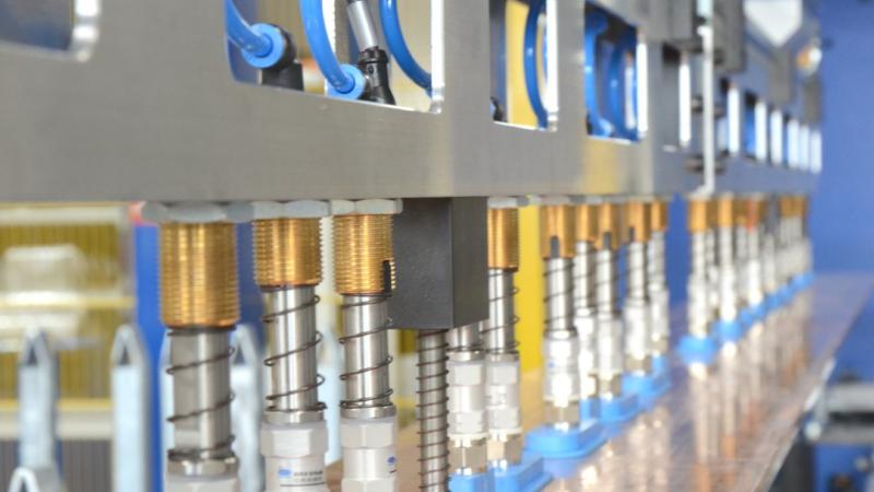 Die Kupferfertigung der  Siemens AG wurde automatisiert