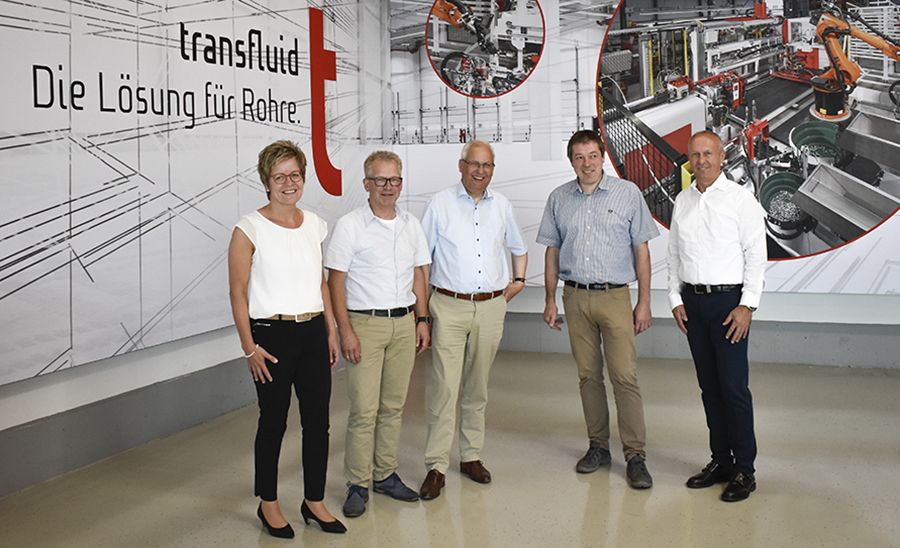 Landrat staunte über Leistungen bei transfluid
