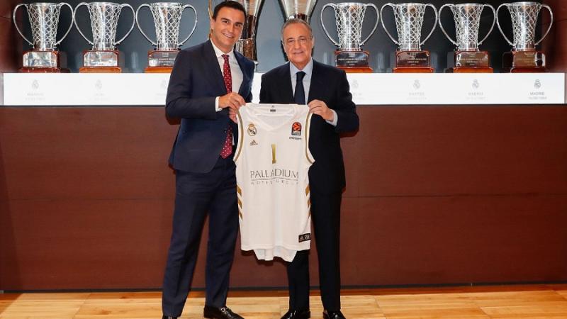 Palladium Hotel Group ist neuer offizieller Sponsor von Real Madrid Basketball