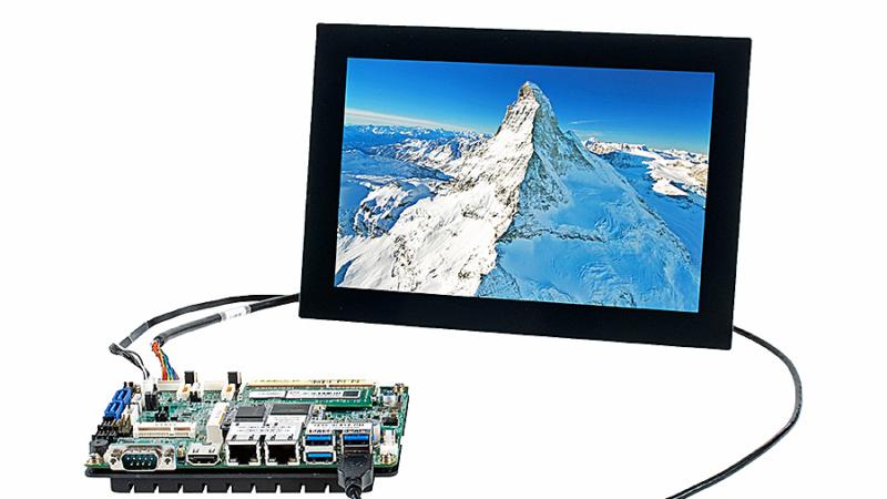 Einsatzbereite x86-Displayansteuerung mit Plug&Play
