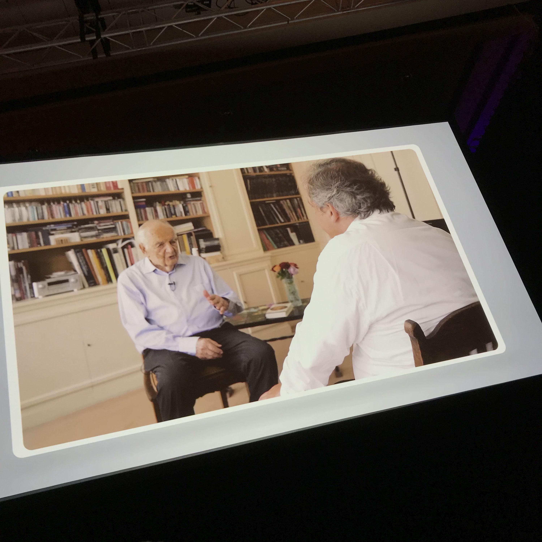Prof. Dr. Alfred Grosser erhält den Deutschen Rednerpreis der German Speakers Association