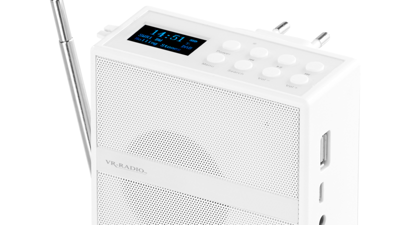 VR-Radio Steckdosenradio MPS-800.bt mit DAB+/FM, BT, USB