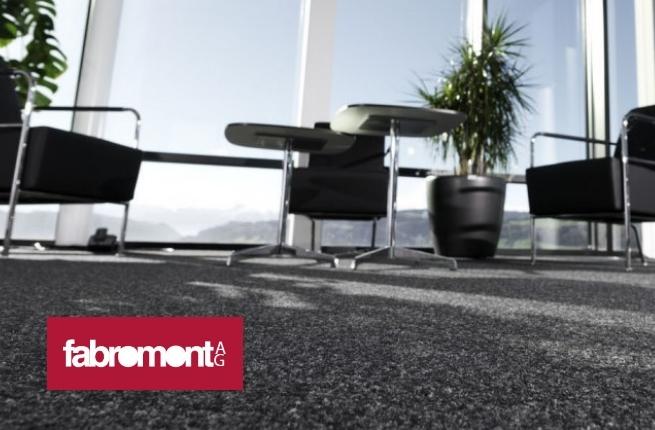 Fabromont Kugelgarn – Teppichboden für Büros und Objekte