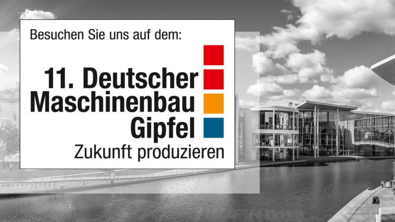 Lino GmbH auf dem 11. Deutschen Maschinenbau-Gipfel 2019
