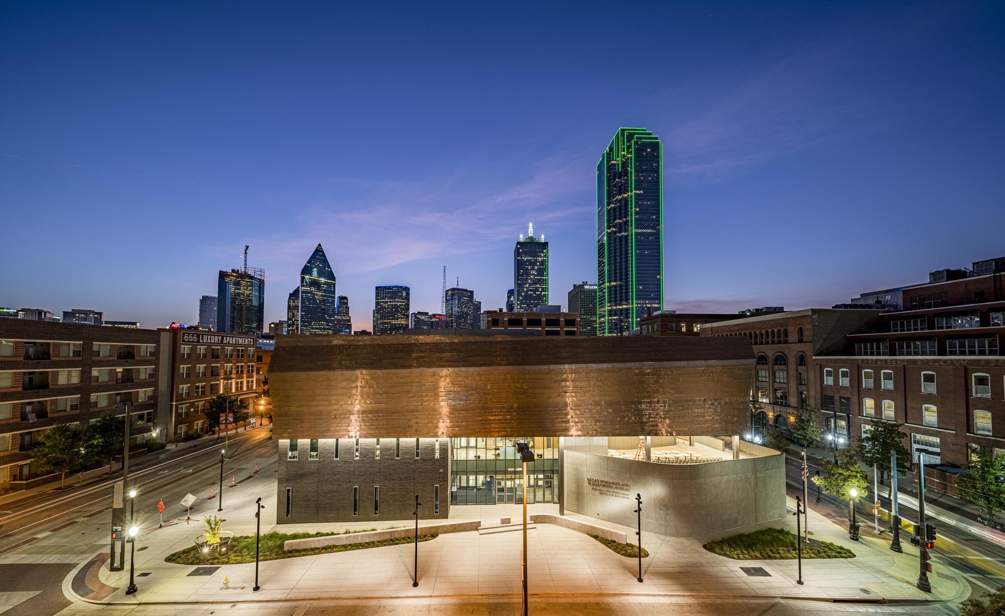 Neues Dallas Holocaust and Human Rights Museum eröffnet