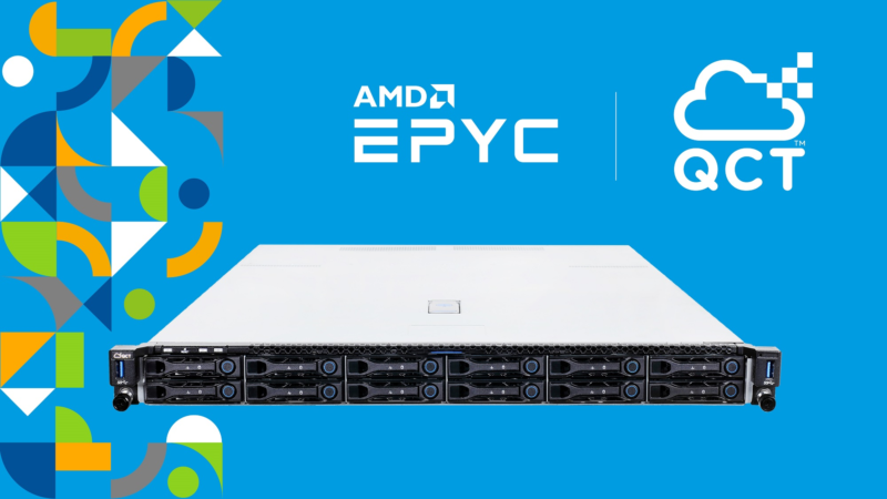 QCT Now Offering AMD EPYC™ 7002 Series Processor-Based Systems to Customers Who Want to Transform Their Data Centers